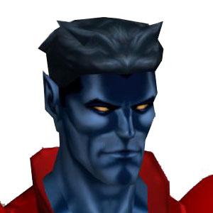 Nightcrawler from the X-Men
