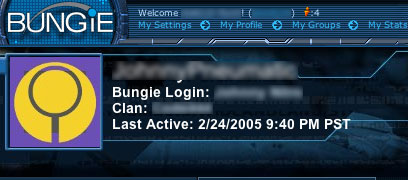 Bungie stats pages displays Last Active time